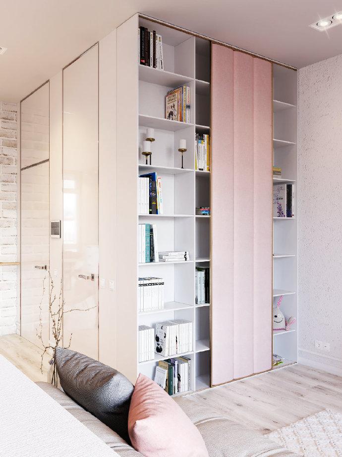 二居 白领 收纳 旧房改造 80后 小资 卧室图片来自今朝小伟在梦幻家居设计的分享