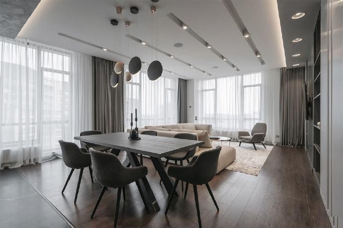 三居 白领 收纳 旧房改造 80后 小资 餐厅图片来自今朝小伟在130平米米色公寓 质朴的奢华的分享