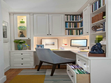 小户型书房设计,恰到好处的