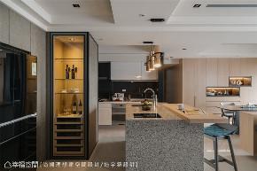 装修设计 装修完成 现代风格 厨房图片来自幸福空间在126平,异材质荟萃人文美型宅的分享
