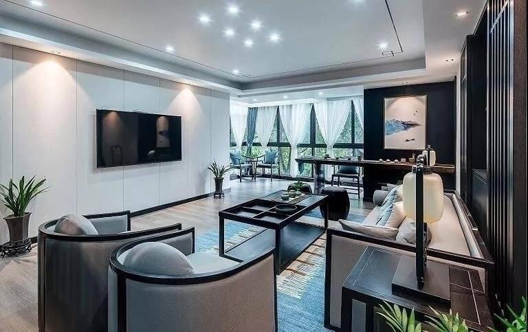 三居 白领 收纳 旧房改造 小资 80后 客厅图片来自今朝小伟在新中式远离了都市喧嚣 宁静悠闲的分享