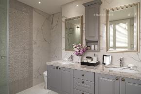 张馨 瀚观 室内装饰 装修 设计 卫生间图片来自张馨/瀚观室内装饰在进口建材商老板的轻奢美宅的分享
