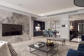 张馨 瀚观 室内装饰 装修 设计 客厅图片来自张馨/瀚观室内装饰在进口建材商老板的轻奢美宅的分享