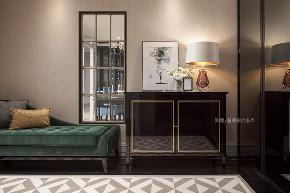 张馨 瀚观 室内装饰 装修 设计 玄关图片来自张馨/瀚观室内装饰在进口建材商老板的轻奢美宅的分享