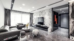 兄弟装饰 华润24城 现代风格 客厅图片来自重庆兄弟装饰公司在兄弟装饰,华润二十四城103㎡装修的分享