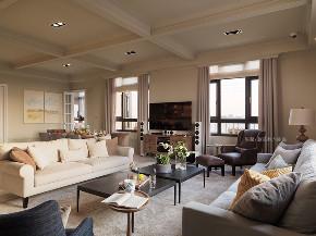 张馨 瀚观 室内设计 装修 装饰 客厅图片来自张馨/瀚观室内装饰在自地自建,田中央的手绘城堡的分享