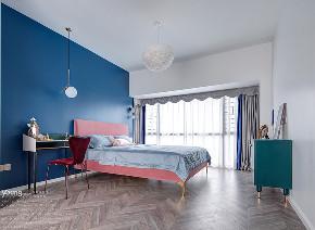 简约 混搭 白领 收纳 旧房改造 80后 小资 卧室图片来自漾设计在Young新作 | 法式轻奢风来袭!的分享