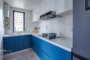 简约 混搭 白领 收纳 旧房改造 80后 小资 厨房图片来自漾设计在Young新作 | 法式轻奢风来袭!的分享