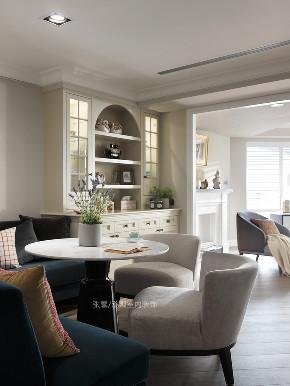 张馨 瀚观 室内设计 装修 装饰 餐厅图片来自张馨/瀚观室内装饰在30年老屋,钻石格局的美式典雅的分享