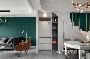 三居 餐厅图片来自韦克空间设计在韦克丨轻奢岁月,旖旎时光的分享
