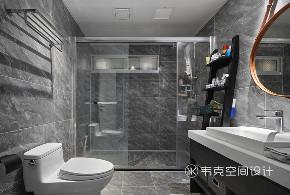 三居 卫生间图片来自韦克空间设计在韦克丨轻奢岁月,旖旎时光的分享