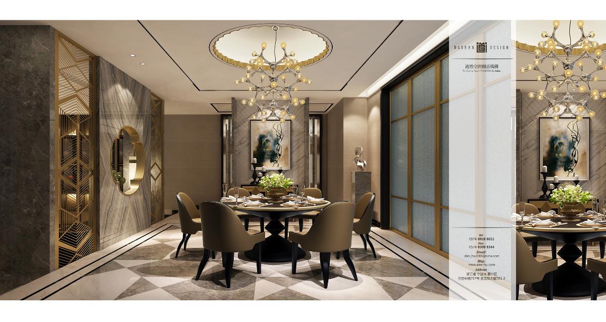 餐廳的佈局分為簡餐廳和宴客廳,宴客廳雍容華貴,簡餐廳溫馨隨意。