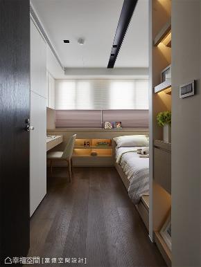 装修完成 装修设计 休闲多元 现代简约 儿童房图片来自幸福空间在119平, 凝聚情感的休闲温馨宅的分享