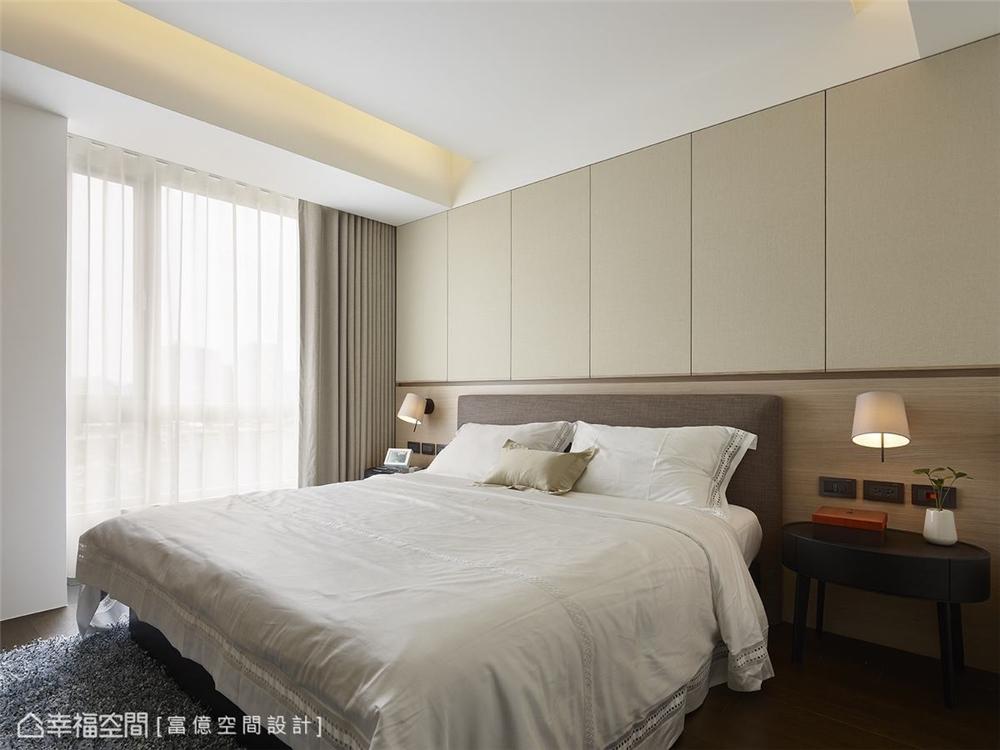 装修完成 装修设计 休闲多元 现代简约 卧室图片来自幸福空间在119平, 凝聚情感的休闲温馨宅的分享