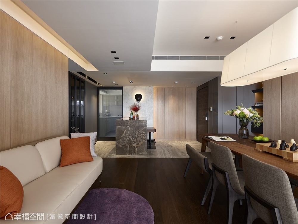 装修完成 装修设计 休闲多元 现代简约 其他图片来自幸福空间在119平, 凝聚情感的休闲温馨宅的分享