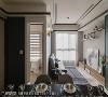 完整空间尺度 更动沙发背墙,让次卧空间多出30公分走道,创造客厅与次卧舒适的生活尺度。