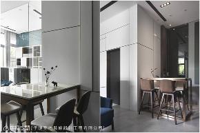 装修设计 装修完成 现代风格 餐厅图片来自幸福空间在63平,与九只猫的生活体验的分享