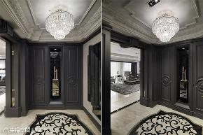 装修设计 装修完成 新古典 奢华风格 玄关图片来自幸福空间在212平,古典  奢华对称美学的分享