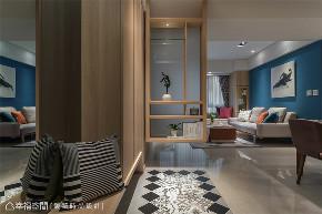 装修设计 装修完成 休闲多元风 玄关图片来自幸福空间在99平,开阔流畅动线  休闲风格宅的分享