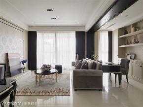 装修设计 装修完成 新古典 客厅图片来自幸福空间在132平,坐拥古典语汇中的美好的分享