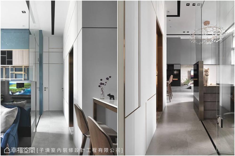 装修设计 装修完成 现代风格 客厅图片来自幸福空间在63平,与九只猫的生活体验的分享