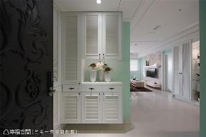 装修设计 装修完成 美式风格 玄关图片来自幸福空间在56平,小宅魔法 新婚甜蜜居的分享