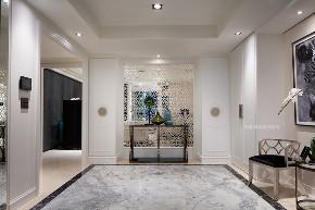 张馨 瀚观 室内设计 装饰 装修 玄关图片来自张馨/瀚观室内装饰在380㎡,色彩斑斓的大器之作的分享