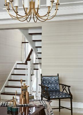 美式 复式 楼梯图片来自知贤整体家装在新城相宜璟庭的分享
