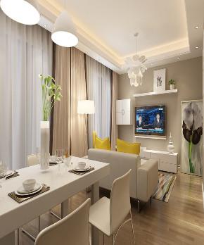 二居 简约 餐厅图片来自知贤整体家装在中信泰富丶又一城二期的分享