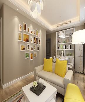 二居 简约 客厅图片来自知贤整体家装在中信泰富丶又一城二期的分享