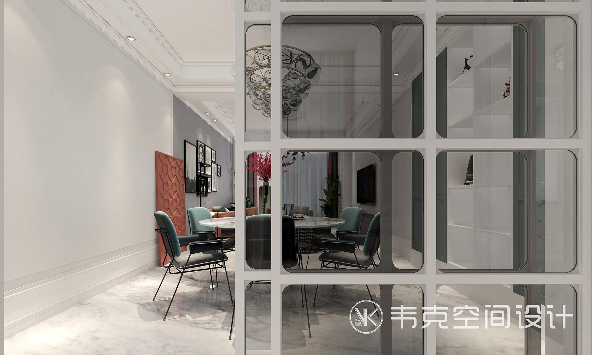 """餐厅图片来自韦克空间设计在韦克丨放慢脚步,享受""""轻""""生活的分享"""