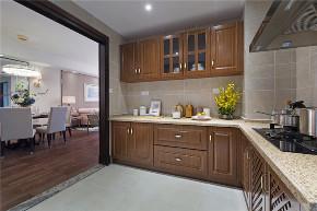 混搭 美式 轻奢 厨房图片来自知贤整体家装在圣约翰名邸的分享