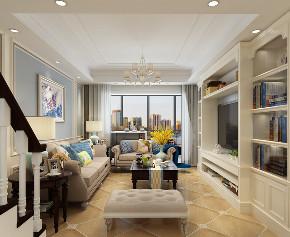 简约 美式 客厅图片来自知贤整体家装在舒城苑的分享