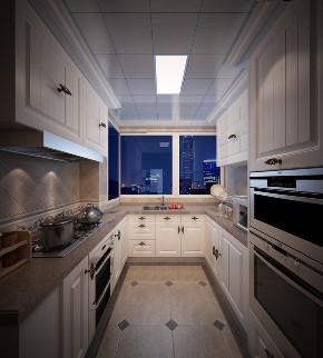 简约 美式 厨房图片来自知贤整体家装在舒城苑的分享