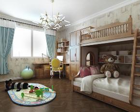 简约 美式 儿童房图片来自知贤整体家装在舒城苑的分享