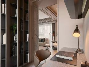 新古典 小户型 书房图片来自知贤整体家装在绿川新苑的分享