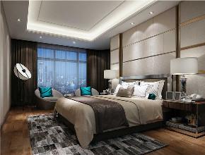 简约 现代 复式 卧室图片来自知贤整体家装在富竹小区的分享