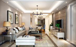 简约 现代 复式 客厅图片来自知贤整体家装在富竹小区的分享