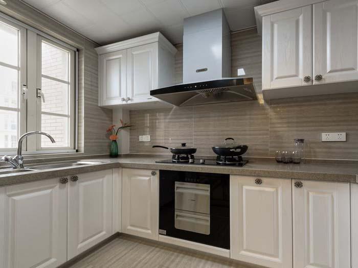 简约 现代 复式 厨房图片来自知贤整体家装在富竹小区的分享