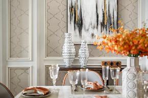 欧式 别墅 餐厅图片来自知贤整体家装在金臣颐墅的分享
