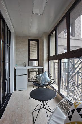三居 简约 阳台图片来自知贤整体家装在绿地海域苏河源的分享