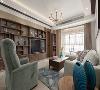 整个设计强调功能性,线条简约流畅,通过家具、软装、饰品的配合,显示出空间的美感。