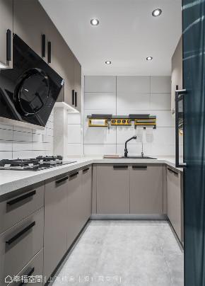 装修设计 装修完成 现代风格 上海映象 上海装修 星啊 陈子欣 幸福空间 厨房图片来自幸福空间在89平,实现精致生活美学的分享