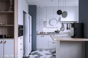 装修设计 装修完成 上海映象 上海装修 星啊 陈子欣 幸福空间 现代风格 厨房图片来自幸福空间在109平,擘划三口之家的温馨美宅的分享