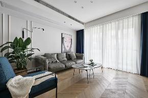 现代 北欧 三居 客厅图片来自知贤整体家装在兰郡九里的分享