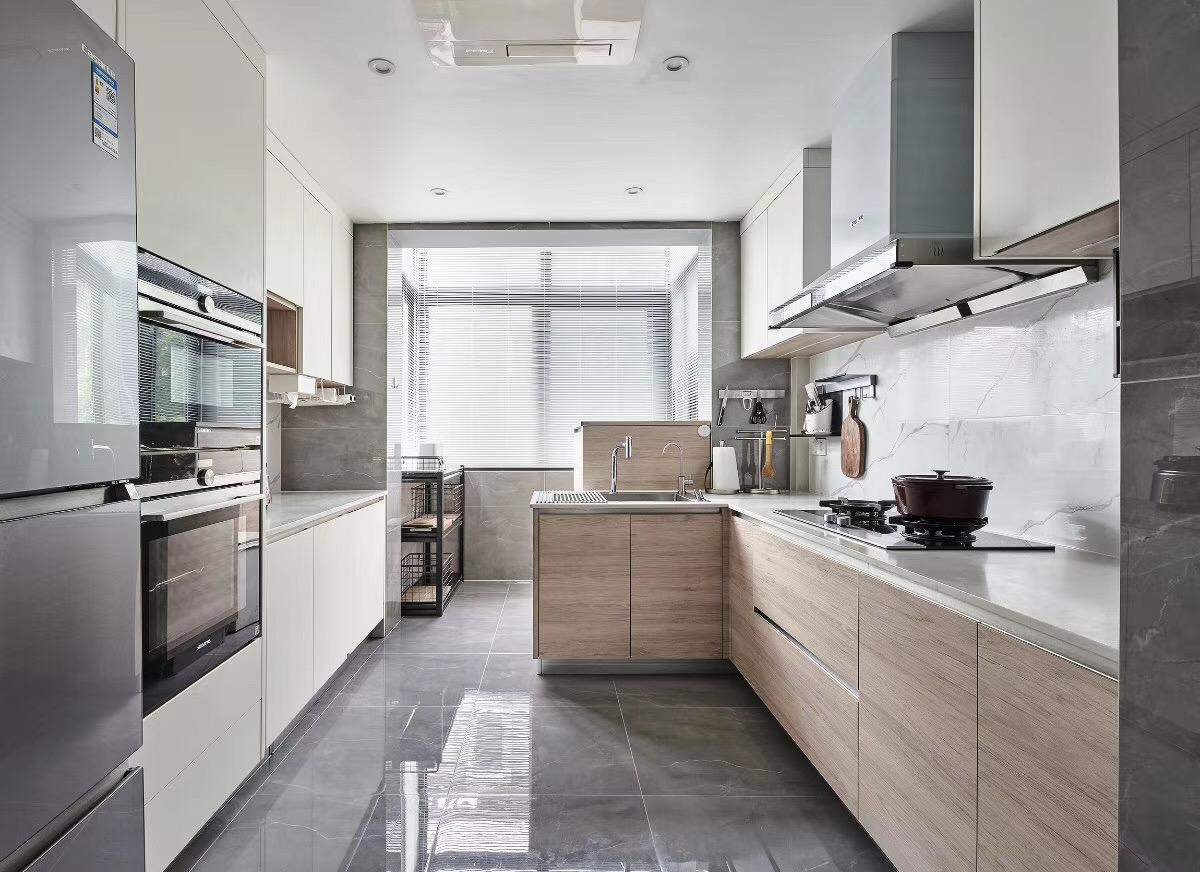 现代 北欧 三居 厨房图片来自知贤整体家装在兰郡九里的分享