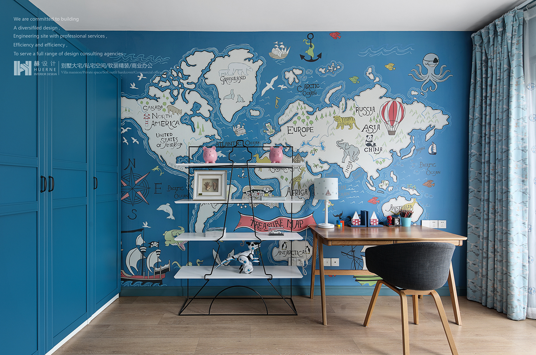 别墅 厨房 餐厅 客厅 卧室 儿童房图片来自黎易来∣LEE在玛丽·布莱尔梦境的分享