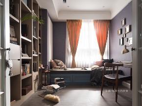 张馨 瀚观 室内设计 装修 装饰 书房图片来自张馨/瀚观室内装饰在143㎡,金融业主管的舒心美宅的分享