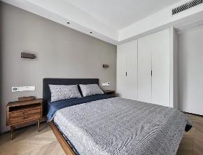 现代 北欧 三居 卧室图片来自知贤整体家装在兰郡九里的分享