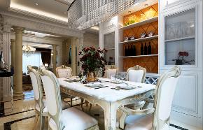 欧式 四居 餐厅图片来自知贤整体家装在理想丶康城一品的分享